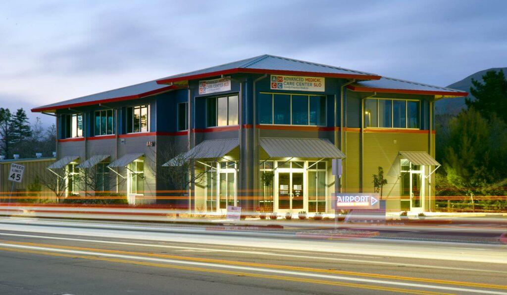 metal building in San Luis Obispo, CA
