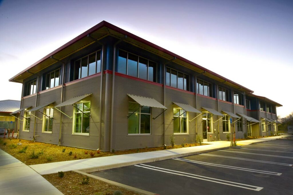 San Luis Obispo, CA metal building